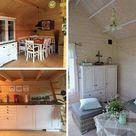 Gartenhaus einrichten - modern, skandinavisch, mediterran