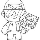 Brawl Stars coloring pages   Print and Color.com