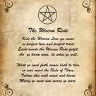 Wicca weten en regels