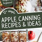 12+ Simple Apple Canning Recipes & Ideas