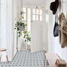 Agadir Vinyl Tile Sticker Pack in Grey - Tile Decals - Floor Stickers