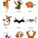 Animal Body Parts 1 flashcard