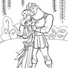 Hercules coloring pages for kids, printable free