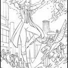 Coloring Book Avengers: Endgame 4