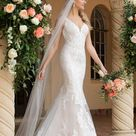Lace and Tulle Fit-and-Flare Wedding Gown | Stella York | Wedding Dresses
