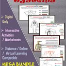 Human Body Systems Online Interactive Activities for Virtual & Distance Learning - MEGA BUNDLE