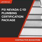 PSI Nevada C-1D Plumbing Contractor Certification Package