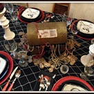 Pirate Party Tables