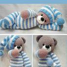 Amigurumi Bear in Pajamas   Free Pattern