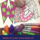 WREN- A Free Name Coloring Page  — Stevie Doodles