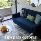 Tips para decorar un departamento pequeño
