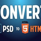 To Create your website & Convert psd to html