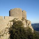 Château de Peyrepertuse - Vieux donjon du château -
