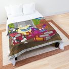 Aaahh!!! Real Monsters Nickelodeon Group Comforter by AbbysRadArt