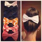 Fabric Hair Bows