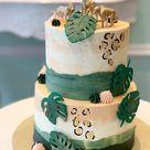 Jungle thema cake