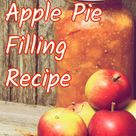 Apple Pie Filling Recipe - And How To Can and Freeze Too!