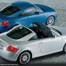 ThrowbackThursday 2001 Audi TT Open Sky Concept by Magna Steyr   Fourtitude.com