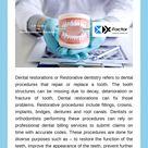 CDT Codes For Dental Restoration Procedures