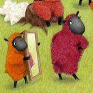 Sheep Illustration