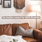 Replacement leather covers for IKEA Nockeby