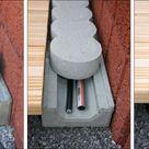Kabel-Schlauch-Kanal aus Beton für mehr Sicherheit und Ordnung im Garten
