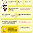 Easy to Learn Korean 888 – Don't understand, Don't want, Don't know