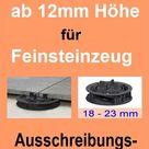 Stelzlager, Höhe 12mm, Fugenkreuzhöhe 15mm, Ausschreibungstexte