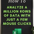 Make Sense of your Business Data with Excel Pivot Tables