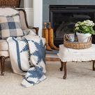 woven jute living room rug | Miss Mustard Seed