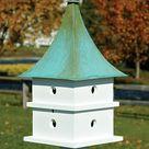 Heartwood Cypress Landing Bird House at BestNest.com