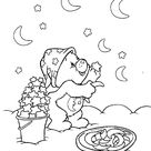 Pudgy Bunny's Care Bears Coloring Pages