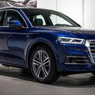 2017 Audi Q5 In Navarra Blue Metallic On Display In Neckarsulm   Carscoops