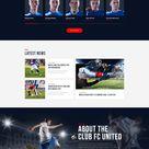 50 OFF for FC United   Football, Soccer WordPress Sports Theme