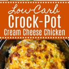 Low-Carb Crock-Pot Cream Cheese Chicken