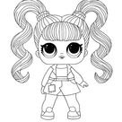 LOL Hairvibes Jelly Jam coloring page - Free LOL coloring pictures