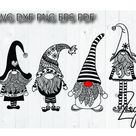 Christmas gnome svg gnome mandala zentangle Santa sack cut   Etsy