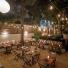 Santa Monica's new patio hideaway feels like a celebrity backyard party