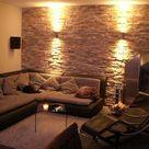 Design Wohnung    Wände wie eine