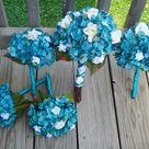 Teal Bouquet