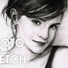 How to Turn a Photo Into a Pencil Sketch