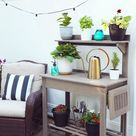 Let's put together  a potting bench! Getting the patio ready for Summer.