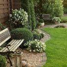 Oase der Ruhe im kleinen Garten - Fresh Ideen für das Interieur, Dekoration und Landschaft