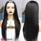 U part wig Human Hair cheap U-Part wigs silk straight women wigs for women Upart wigs human hair wigs free shipping