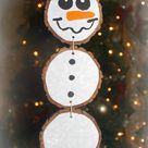Schneemann basteln mit Kindern im Winter aus verschiedenen Materialien
