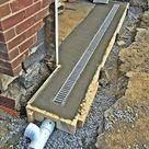 Garageneinfahrt Entwässerung #WoodWorking - Outdoor Diy