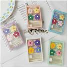 Pack of 2 Cute contact lense cases, Flower Contact Lens Applicator, Kpop Contact lens case for Travel