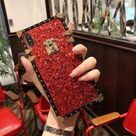 VaryFun丨French Style Vintage Glitter Phone Case For Samsung Galaxy - BLACK / S8