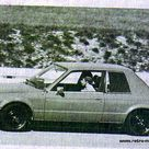 BMW E30 Test Mule/Prototype, 1982