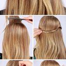 Lulus How-To: Twisted Half-up Hair Tutorial - Lulus.com Fashion Blog